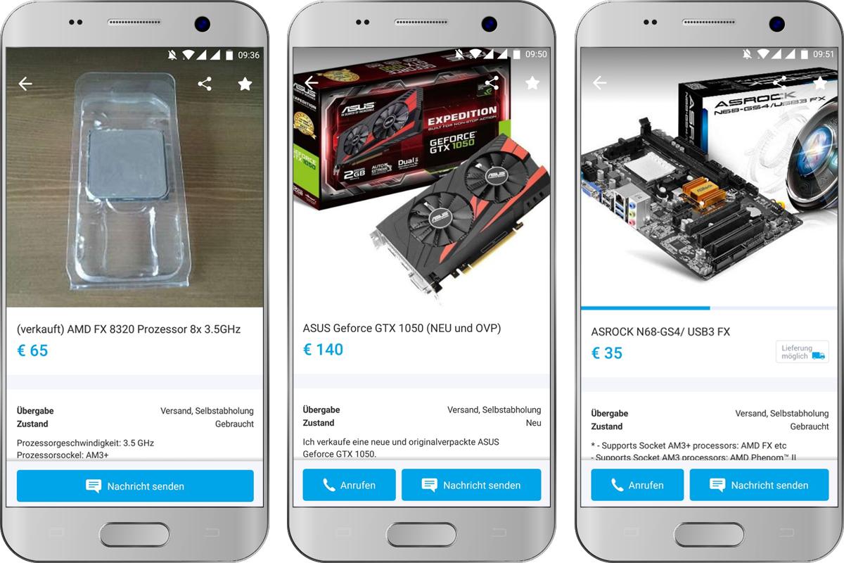 CPU, Grafikkarte und Motherboard günstig gefunden auf willhaben