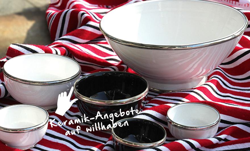 Ich habe kürzlich in Andalusien und in Granada wunderschöne, orientalisch angehauchte Keramik gekauft. Das hat mich !