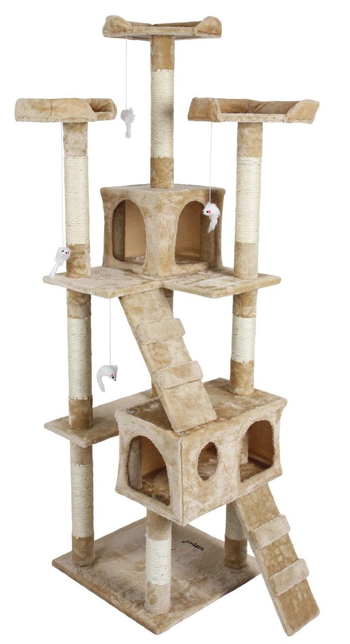 Katzen brauchen was zu kratzen. Kratzbäume gibt es von groß bis klein auf willhaben.