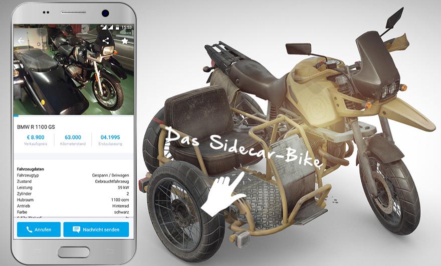 Das Sidecar-Bike