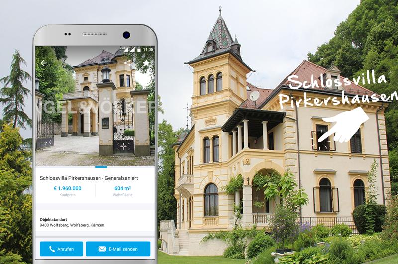 Schlossvilla Pirkershausen auf willhaben