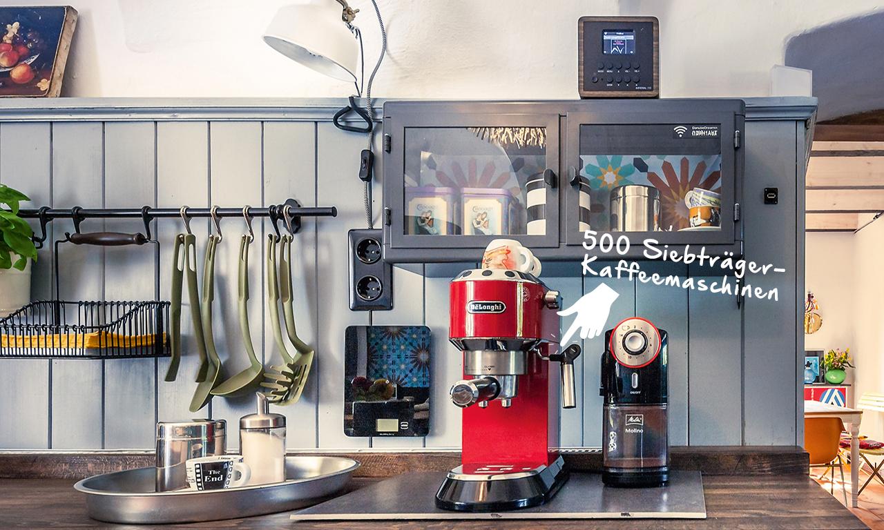Siebträgermaschinen für guten Kaffee