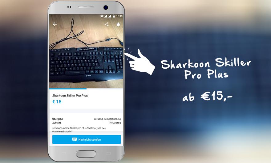 Sharkook Skiller Pro + auf willhaben