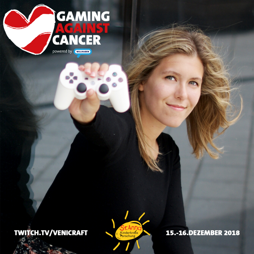 Gaming Against Cancer - JustBecci