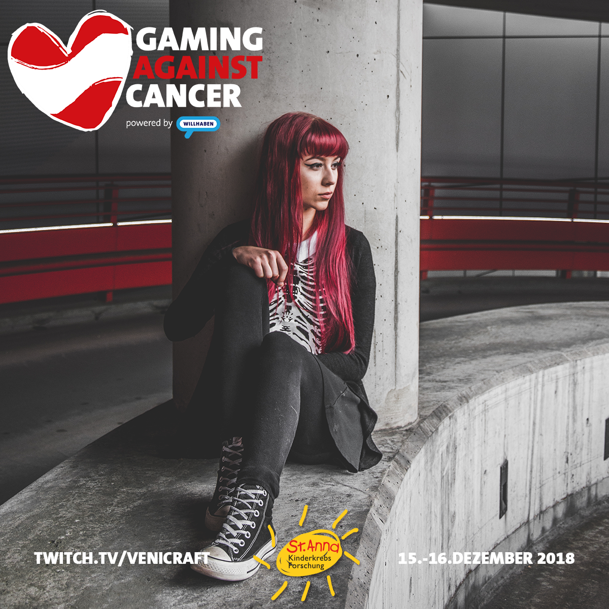 Gaming Against Cancer - Rainbowbunchie