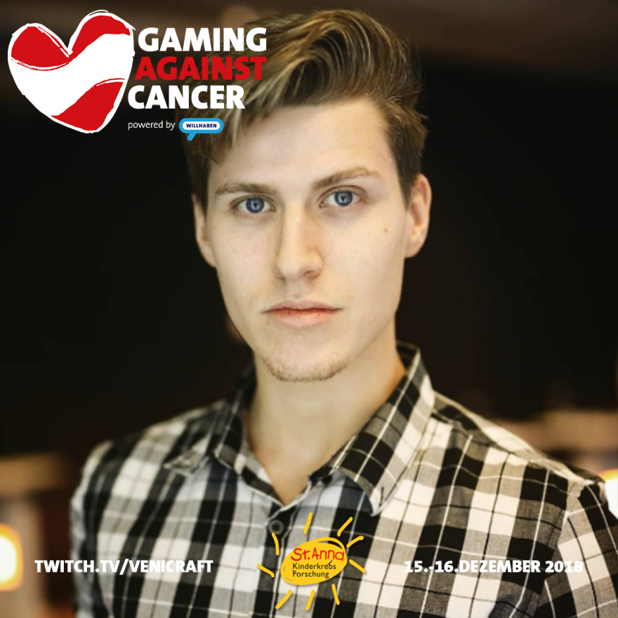 Gaming Against Cancer - LuigiKid