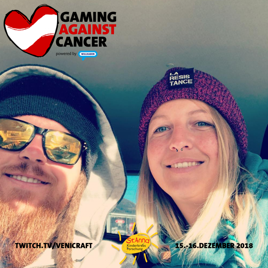 Gaming Against Cancer - Whiteydude und Princesscarli
