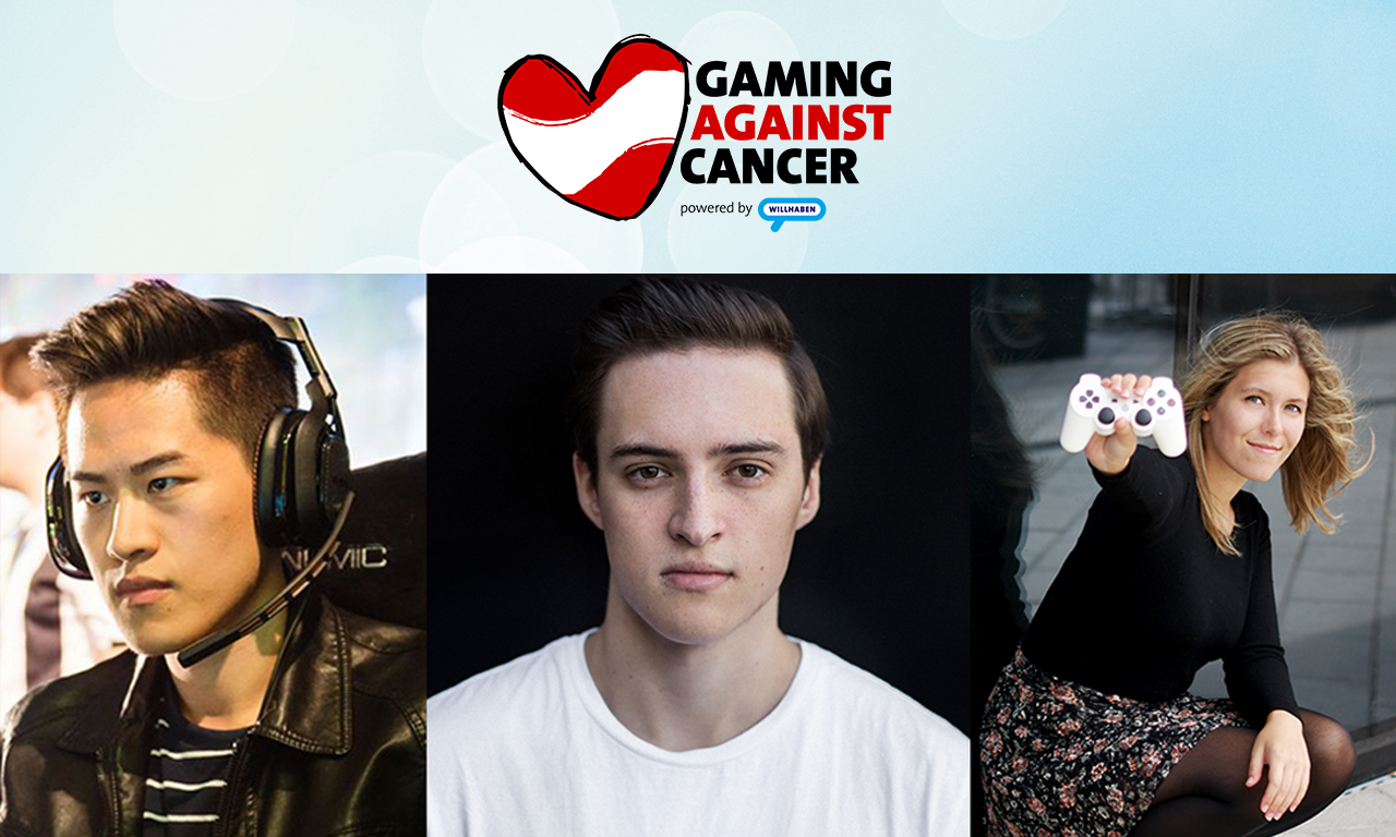 Gaming Against Cancer powered by willhaben