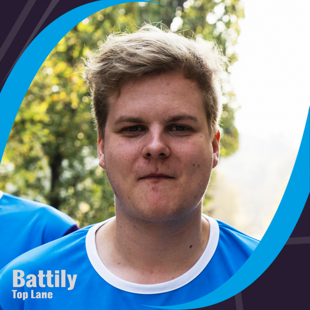 "Top Lane - Florian ""Battily"" Nadegger, Tickling Tentacles willhaben, A1 esports League"