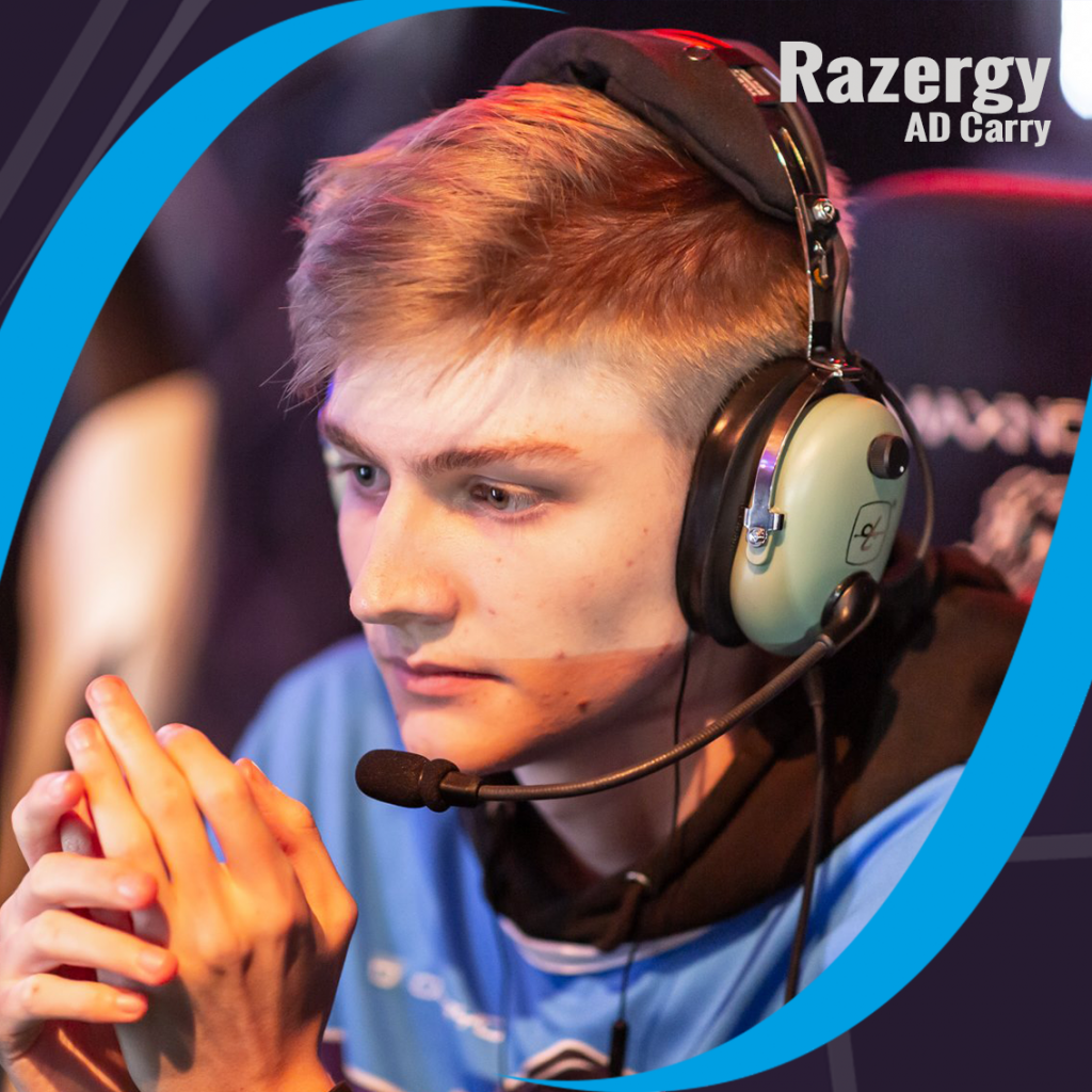 "AD Carry - Tobias ""Razergy"" Elsässer, Tickling Tentacles willhaben, A1 Esports League"