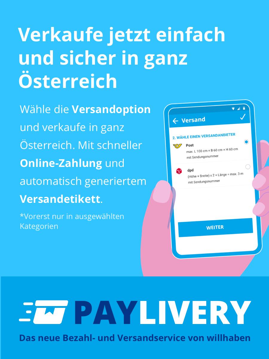 PayLivery - Das neue Bezahl- und Versandservice von willhaben
